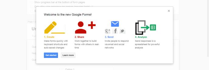 New Google Form