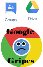 Gripe 6 Drive and Groups Share